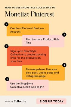 We offer more than any other Influencer platform - Get the free tools and resources you need to kick start your business. Become a member of ShopStyle Collective today to learn more. How To Get Money, Make Money Blogging, Successful Business Tips, Small Business Plan, Affirmations, Social Media Marketing Business, Pinterest For Business, Pinterest Marketing, Blog Tips