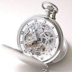 エポス(EPOS)両開き懐中時計 スケルトン:腕時計/懐中時計/通販/正美堂時計店
