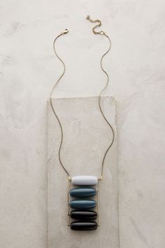 Aura Ladder Necklace - anthropologie.com