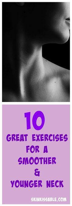 The neck really becomes a problem with age. Prevent wrinkles and a turkey neck with these neck exercises.