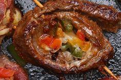 Diese super würzigen Steak-Fajita-Röllchen musst du du mal nachmachen