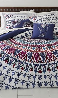 Discover the best boho bedding, comforters, quilts, duvet covers, and more for your bedroom. If you love bohemian themed bedding sets then this list is perfect for you.