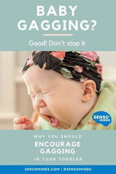 Your baby gagging can be terrifying. And while this is normal, sometimes this can be traced back to sensory issues in babies. Read more to find out if your baby has oral sensory aversions and learn about what to do when babies have a sensitive reflex and gag on food! Baby Tips, Baby Hacks, Natural Childbirth, Baby Feeding Schedule, Parent Coaching, Baby On A Budget, Vegan Baby, Healthy Toddler Meals, Sensory Issues