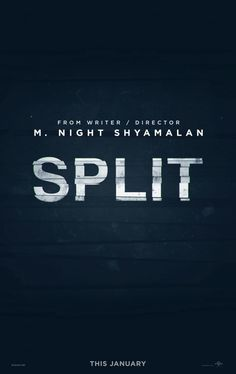 Split. 2017. D: M. Night Shyamalan. To hear the show, tune in to http://thenextreel.com/filmboard/split or check out our Pinterest board: http://www.pinterest.com/thenextreel/the-next-reel-the-podcast/ http://www.youtube.com/c/ThenextreelPodcast https://www.facebook.com/TheNextReel  https://twitter.com/TheNextReel http://instagram.com/thenextreel http://www.flickchart.com/tnrfilmboard http://letterboxd.com/thenextreel