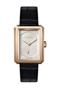 My very own MUST of this year! The BOY.FRIEND Watch by Chanel | Vogue Paris