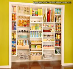 Kitchen pantry from EasyClosets.com