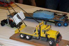Rig truck model