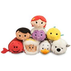 Disney The Little Mermaid Tsum Tsum Mini Soft Toy Collection | Disney Store