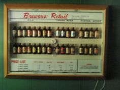 Brewers Retail now the Beer Store Stubby Bottle display. This is how beer was sold in Ontario, remenber this from the long before cans, long necks and self serve became the norm. Variety Store, Beer Store, Bottle Display, Self Serve, Canadian History, True North, Tbs, Vintage Stuff, Beer Bottle