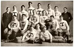 Traces of Texas    University of Texas football team, 1904.
