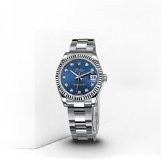 Rolex Datejust Lady 31mm In Steel and White Gold #imagesjewelers #rolex #watch #datejust