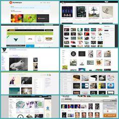 Zapping Gráfico: 10 sitios web de Inspiración Instantánea para Diseñadores