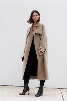 camel coat | neutrals | winter dressing | HarperandHarley.com