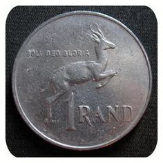 1989 One Rand South African Coin for Antique Coins, Old Coins, 1980s Childhood, Childhood Memories, Valuable Coins, Cape Town South Africa, My Roots, My Land, African History