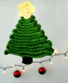 Crochet Ribbon Tree - Tutorial