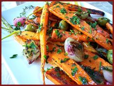 Roasted Carrots and Shallots, w/ Olives and Gremolata!! - Proud Italian Cook