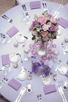 Photo: Miller + Miller Photography - wedding centerpiece idea