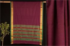 Narayanpet Mercerised Cotton Handloom Saree