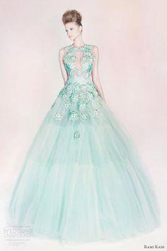 Rami Kadi 2013 — Les Jardins Suspendus Collection | Wedding Inspirasi