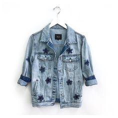 star struck ⭐️ || knox denim jacket