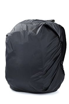 WANDF Water Resistant Backpack Rain Cover for Upto 20 Inches Backpacks Black ** Click on the image for additional details.