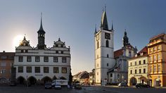 Old Town City Hall in Litoměřice (North Bohemia), Czechia Central Europe, Czech Republic, Prague, North West, Old Town, Notre Dame, Castles, Poland, Germany