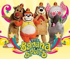 The Banana Splits were Saturday morning cartoon