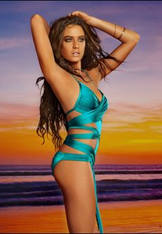 617763a032 Runway Wrap 1pc - Teal My inspiration with this would be to have a  convertible bathing. MollyBrowns Swim Wear