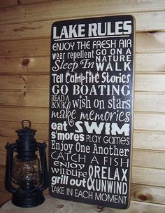 Hey, I found this really awesome Etsy listing at http://www.etsy.com/listing/127105182/lake-rules-subwaytypography-word-art
