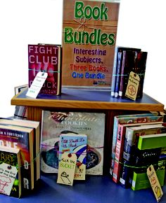 Interesting Subjects, Three Books, One Bundle - Book Bundles @ St. Thomas Public Library
