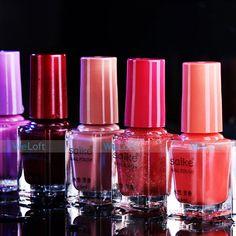 4pcs/lot Shellac Nail Polish Water-based Peelable Innocuity Nail Enamel Soak-off Nail Beauty For Girls Ladys 20 Colors