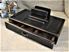 Upcycled Wooden Valet for Dad's Dresser or by dewdropdaisies