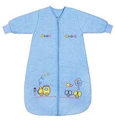 Winter Baby Sleeping Bag Long Sleeves approx. 3.5 Tog - Choo Choo - 0-6 months/28inch - $39.99