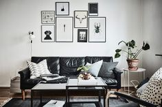 Scandinavian Studio-apartment B&W gallery wall... Or maybe spice it up with colors... Looking for unique and beautiful art photos to curate your art wall? Visit bx3foto.etsy.com
