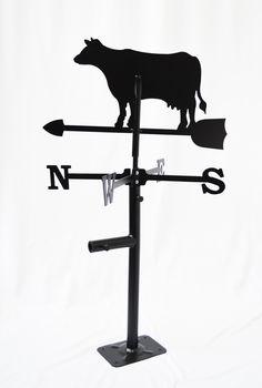 Girouette Vache