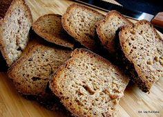Smaczna Pyza: Chleb z musztardą, miodem i otrębami - mój wypiek na World Bread Day