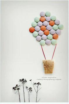 Candies balloon