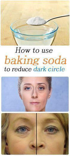 How to use baking soda to reduce dark circle Health Tricks Reduce Dark Circles, Dark Circles Under Eyes, Dark Spots Under Eyes, Face Care, Body Care, Beauty Secrets, Beauty Hacks, Baking Soda Shampoo, Salud Natural
