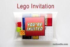 Lego Invitation - Birthday Party Invitation Idea