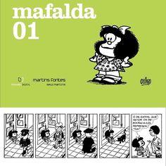 Para a maioria dos meus amigos essa seria uma dica bem feliz: o livro 1 da Mafalda está disponível para download gratuito na iBooks Store.  Mafalda 01 (Português) de Quino: Mafalda 01 (Português) de Quino http://ift.tt/2dveAwU  Mafalda é apenas uma garotinha. Gosta de brincar de dançar e odeia tomar sopa. Mas com apenas seis anos de idade a menina criada pelo cartunista argentino Quino na década de setenta tem plena consciência do mundo em que vive cheio de injustiças guerras e intolerância…