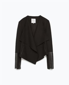 ZARA - WOMAN - MIXED FABRIC JACKET