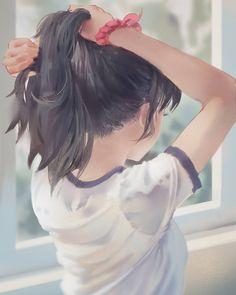 "5,618 curtidas, 17 comentários -  KAWAII ANIME GIRLS  (@pixivs) no Instagram: ""Artist: MyRockyS Publication Date: 9/8/2017 Pixiv Member ID: 7703097 Illustration ID: 64851088 Pic…"""