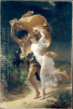 Pierre Auguste Cot:The Storm