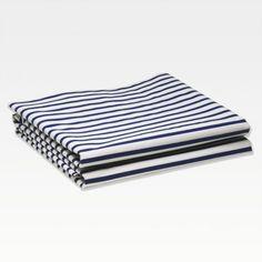 Sailor Striped Marine Bed Sheets   Unison