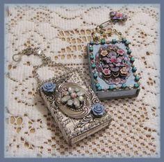 Artful Interludes: Jeweled Marie Matchbox