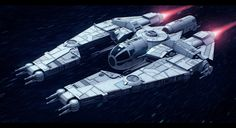 3D render of my personal project featuring a lesser-known ship of Corellian origin. There are a lot of ships that aren't popular and exist mostly as one rough drawing, so I decided to bring them to...