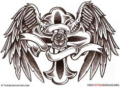 50 Cross Tattoos   Tattoo Designs of Holy Christian, Celtic and Tribal Crosses
