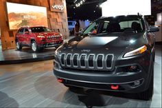 2014 Jeep Cherokee at the 2014 North American International Auto Show