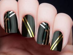 I got: The Inspirer - Striping Tape! Which Kind Of Nail Art Matches Your Personality Type?