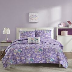 Shop for Mi Zone Abby Purple Coverlet Set. Get free delivery at Overstock.com - Your Online Kids'